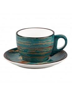 Кофейная пара серия Texture фарфор PL Proff Cuisine