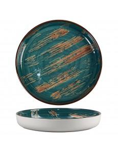 Тарелка с бортом 23х2,8см серия Texture фарфор PL Proff Cuisine