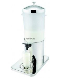 Диспенсер для напитков с матовым резервуаром 33х22х49см 5л