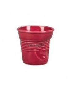 Чашка для эспрессо 90мл Мятая бордо серия Barista фарфор PL Proff Cuisine