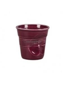 Чашка для эспрессо 90мл Мятая фиолетовая серия Barista фарфор PL Proff Cuisine