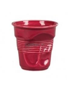 Чашка для кофе 225мл Мятая бордо серия Barista фарфор PL Proff Cuisine