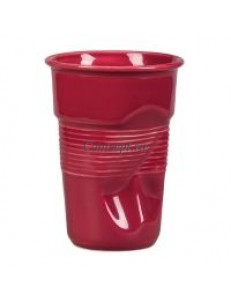 Чашка для латте 290мл Мятая бордо серия Barista фарфор PL Proff Cuisine