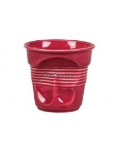 Чашка кофейная 140мл Мятая бордо серия Barista фарфор PL Proff Cuisine