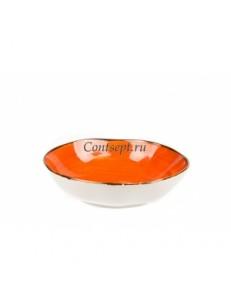 Салатник 19см 600мл серия Orange Sky Fusion фарфор PL Proff Cuisine