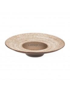 Тарелка для пасты 22х5см 100мл серия Untouched Taiga матовый фарфор PL Proff Cuisine