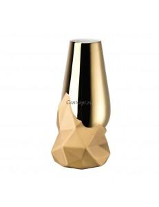 Ваза 27см Rosenthal серия Geode Gold titanium