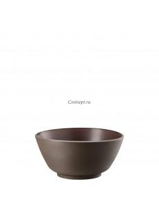 Салатник 19х9см керамика Rosenthal серия Junto Bronze