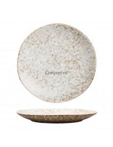 Тарелка 22.5см PL Proff Cuisine серия Brown Spider Silk