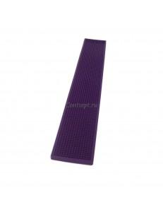 Барный мат фиолетовый 70х10см The Bars