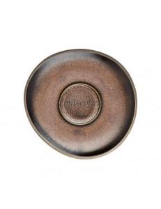 Блюдце 11.5см керамика Rosenthal серия Junto Bronze