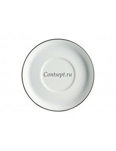Блюдце 13см фарфор Arzberg серия Cucina Black