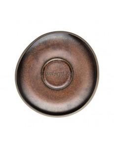 Блюдце 15см керамика Rosenthal серия Junto Bronze