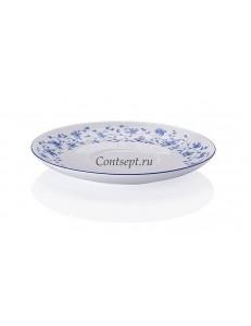 Блюдце 17см для бульонницы фарфор Arzberg серия Form 1392 Blaubluten