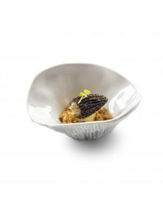 Блюдо Гриб для подачи 13х5,5см 80мл фарфор PORDAMSA серия Botanique