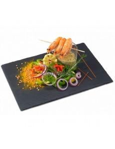 Блюдо для подачи и выкладки прямоугольное 32,5х26,5 см сланец