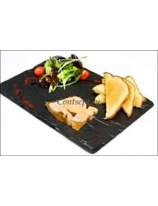 Блюдо для подачи прямоугольное 26,4х16,2 см сланец