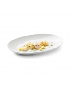 Блюдо овальное 26х18x3см фарфор PORDAMSA серия Zen