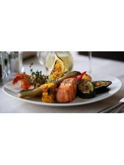 Блюдо овальное для стейка 30 см  фарфор RAK серия Banquet