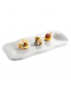 Блюдо прямоугольное 31х12см фарфор PORDAMSA серия Nuages