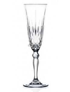 Бокал для шампанского 210мл стекло RCR Melodia