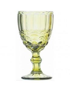 Бокал для вина 250мл зеленый набор 6шт.