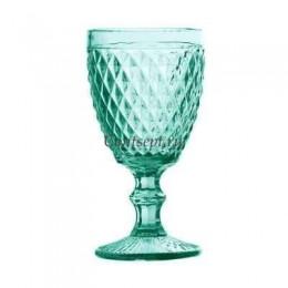 Бокал для вина 255мл бирюзовый Diamonds