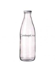 Бутылка с крышкой на резьбе 1000мл