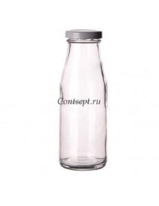 Бутылка с крышкой на резьбе 250мл