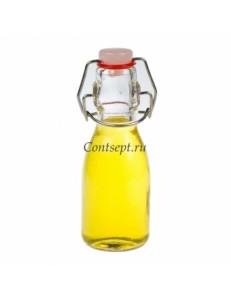 Бутылочка с пробкой на застежке 100мл