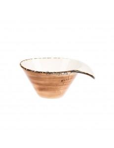 Чаша для бульона 400мл фарфор PL Proff Cuisine серия ORGANICA SAND