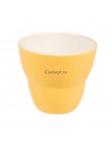 Чашка 250мл цвет лимонный серия Barista-Macarons фарфор PL Proff Cuisine