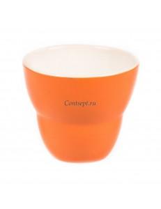 Чашка 250мл цвет оранжевый серия Barista-Macarons фарфор PL Proff Cuisine
