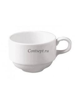 Чашка чайная 230 мл фарфор RAK серия Classic Gourmet