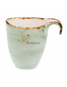 Чашка чайная 300мл фарфор PL Proff Cuisine серия ORGANICA GREEN