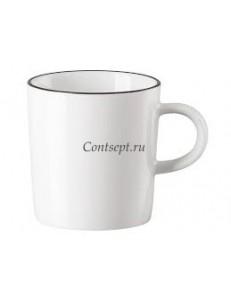 Чашка для эспрессо 100мл фарфор Arzberg серия Cucina Black