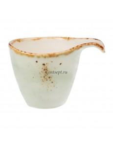 Чашка для эспрессо 90мл фарфор PL Proff Cuisine серия ORGANICA GREEN
