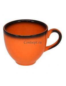 Чашка для эспрессо 90мл оранжевая фарфор RAK серия LEA