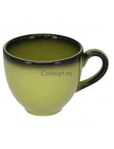 Чашка для эспрессо 90мл салатная фарфор RAK серия LEA