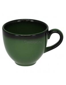 Чашка для эспрессо 90мл зеленая фарфор RAK  серия LEA