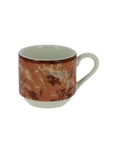 Чашка для эспрессо оранжевая 90 мл фарфор RAK серия Peppery