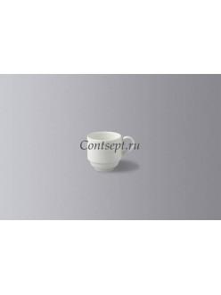 Чашка для эспрессо штабелируемая 90 мл фарфор RAK серия Classic Gourmet