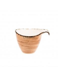 Чашка для кофе 180мл фарфор PL Proff Cuisine серия ORGANICA SAND