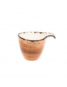 Чашка для кофе 90мл фарфор PL Proff Cuisine серия ORGANICA SAND