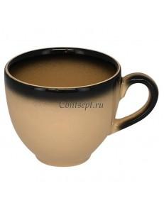 Чашка кофейная 90мл бежевая фарфор RAK серия LEA