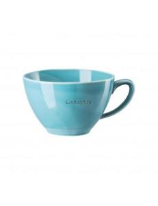 Чашка универсальная 440мл фарфор Rosenthal серия Mesh Aqua