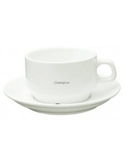 Чайная пара Кажуб 250мл фарфор PL Proff Cuisine