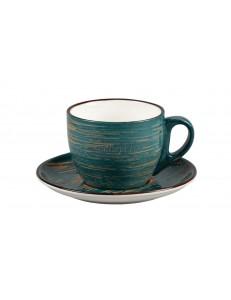 Чайная пара серия Texture фарфор PL Proff Cuisine