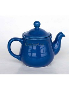 Чайник 500мл синий керамика Kera Ceramika
