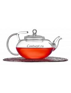 Чайник заварочный 400мл с фильтром в носике термостекло